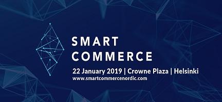 Tule tapaamaan meitä Smart Commerce 2019 -tapahtumaan