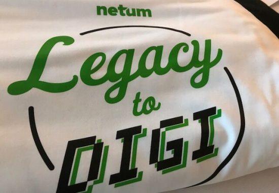 Legacy to digi -slogan ohjaa toimintaamme.