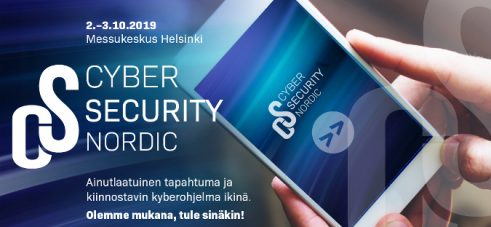 Cyber Security Nordic 2.-3.10.2019