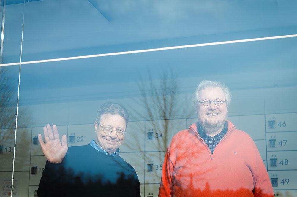 Ted Varila ja Juha Kokko